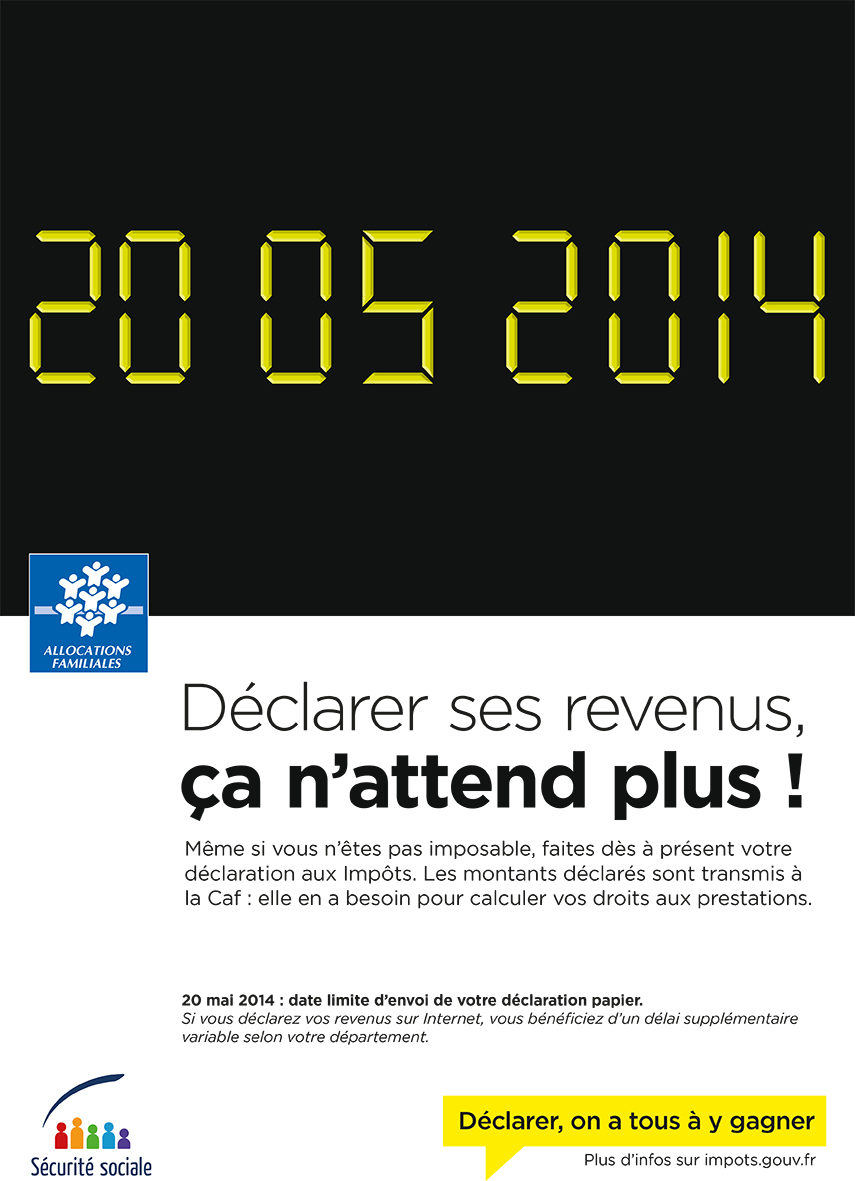 Declaration De Revenus Caf Declarer Parents