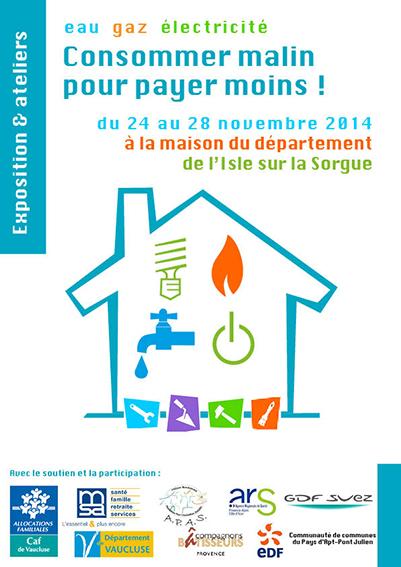 affiches precarite energieI-Sorgues