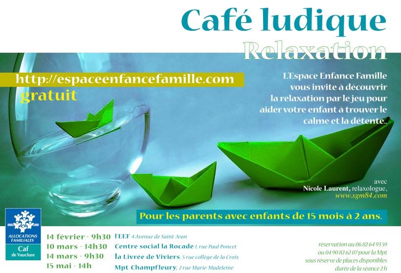 Deux caf s ludiques relaxation la mpt champfleury l for Espace de relaxation