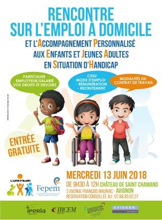 Rencontre emploi handicap lyon 2018